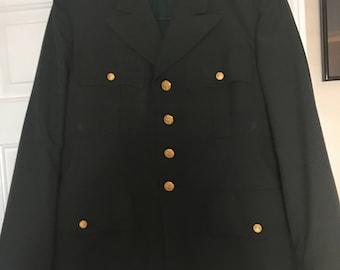 Vintage Army Dress Blazer