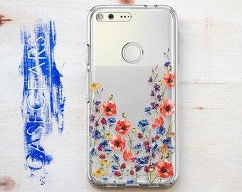 Google Pixel 2 Case Flower Google Pixel XL Case Pixel Google Case Clear Floral Case Lg G5 Case Google Pixel XL 2 Case Blackberry Z10 CG1500
