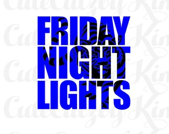 FOOTBALL svg, jpg, png, dxf, cricut file, cutting file, silhouette file, friday night lights