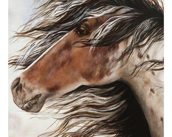 Wild Horse -  original wildlife painting