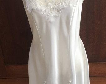 L / California Dynasty / Chemise / Slip / Dress / Nightgown Vintage Lingerie / Large