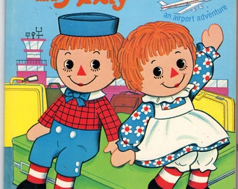 Whitman 1978 Raggedy Ann and Andy Coloring Color Book 1053-42