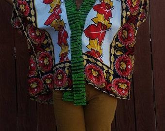 Khanga/Ankara Kimono