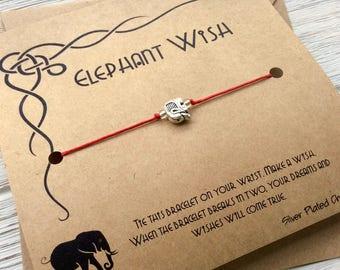 Lucky Elephant, Elephant Bracelet Woman, Elephant Bracelet BFF, Elephant Bracelet Women, Elephant Bracelet Friend, Elephant Bracelet Sister