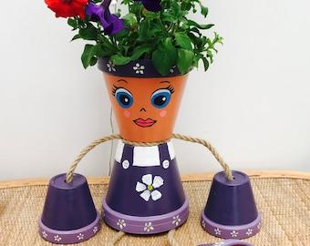Plant pot person