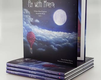 Fly with Maya - A Story About Engineers Around the World, Part 1