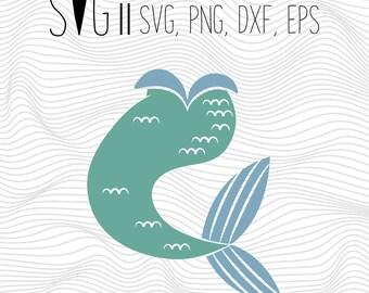 Blue Mermaid Svg, Pant Svg, Mermaid Leg Svg, Font Svg Files For Silhouette For Cricut, Vector Cutting Files Vinyl Decal, Monogram Svg