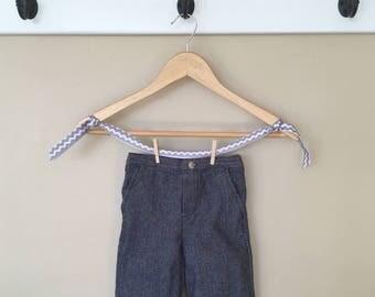 18 Month Knee Pad Herringbone Dress Pants