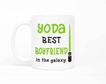 Yoda Best Boyfriend Mug,Valentines Day Gift,Funny Gift For Boyfriend,Boyfriend Mug,Gift For Boyfriend,Anniversary Gift For Boyfriend