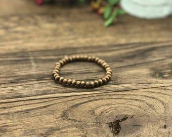 Mens Beaded Bracelet, Beaded Bracelet for Men, Bead Bracelet Men, Mens Wood Bead Bracelet, Wood Bead Bracelets Men, Wooden Bracelet for Men
