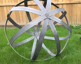 Garden Ball of steel