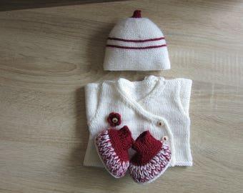 Box baby Preemie (3 pieces)