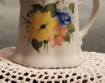 Pretty Hand Painted Pitcher