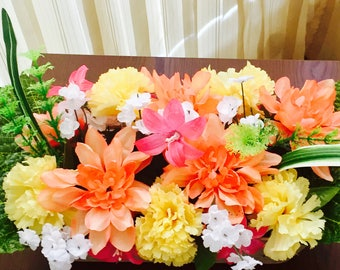 Assorted Carnation Flower Arrangement