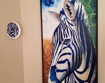 Cobalt Zebra