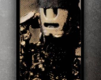 Steampunk Robo - original photo art picture