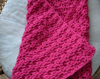 Bubble Baby Blanket/Afghan/Swaddle/Made to Order/Custom Made