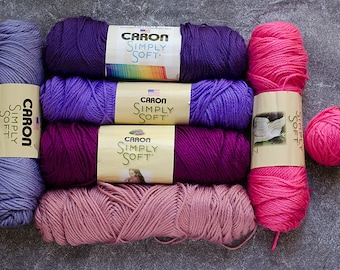 Yarn Destash, Clearance Yarn, Caron Simply Soft Yarn, Yarn Sale, Acrylic Yarn, Yarn for Sale, Yarn Lot, Sale Yarn, Destash Yarn, Caron Yarn