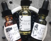 Face Nectar // Sensitive/Dry Skin // Balancing// Blemish Busting // Face Oil // Face Serum // All-Natural // Organic