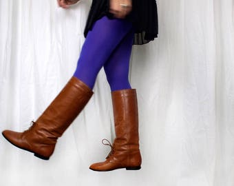 Vintage Leather Riding Boots size 6.5