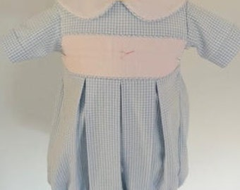 READY to SMOCK Yoke Bubble for Boy or Girl, YOKE Bubble ready to smock for Boy or Girl