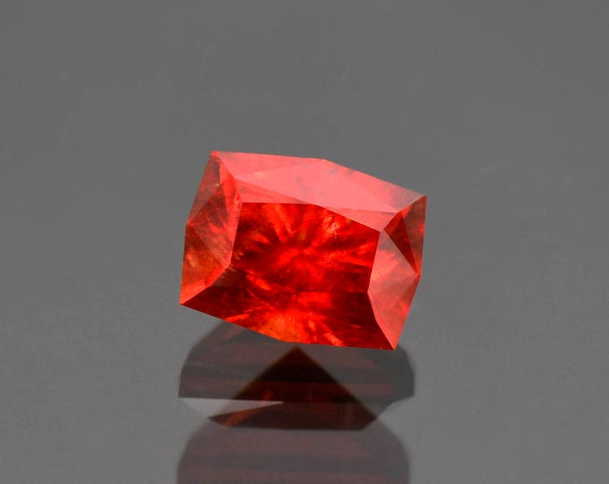 UPRISING SALE! Exquisite Precision Cut Red Rhodochrosite Gemstone from South Africa 6.25 cts.