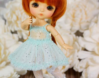 Lati Yellow/ Puki Fee - ''Twinkling Stars'' Dress - MintColor - Basic