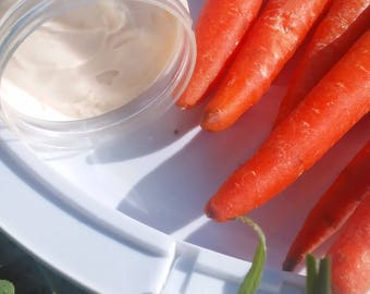 Carrot Créme (hair butter, strengthener, pomade, curl cream, prepoo, hot oil, moisture sealant, hair treatment)