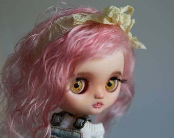 RESERVED Rosie - custom Blythe Doll by Blue Butterfly Dolls
