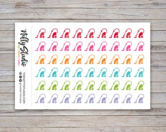 Vacuum Stickers | Planner Stickers floor care cleaning | Stickers for Planners, Calendars, Agendas | The Nifty Studio