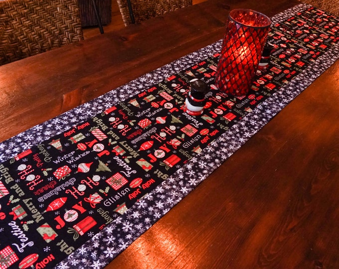 Modern Christmas Decor-Christmas Table Runner-Xmas Decor-Christmas Decorations-Holiday Decor-Farmhouse Christmas Decor-Christmas Gift