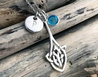 Celtic Knot Pendant Necklace CLT010