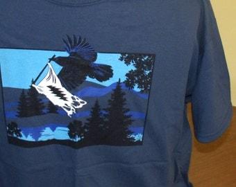 """Mens Grateful Dead shirt. Grateful Dead """"Liberty"""" t shirt"""