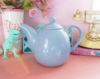 Vintage Blue Teapot