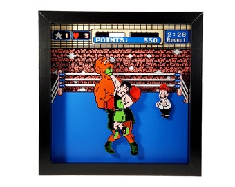 Punch-Out!! (NES) Little Mac's Victory Shadow Box