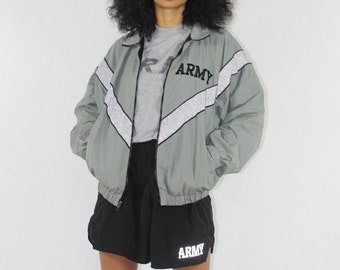 Vintage Army Jacket Size Small | 80s Deadstock Army Coat | USA Army Jacket | Military Jacket