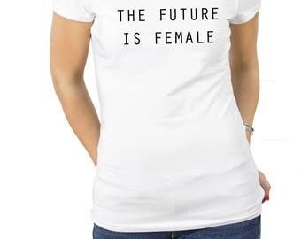 Female camiseta, The future is female camiseta frases feministas el futuro es femenino lemas feministas frases feministas igualdad de género