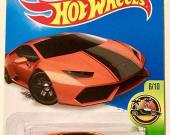 Hot Wheels Lamborghini Huracan LP610-4 #76/250 - HW Exotics - RARE - Free Shipping