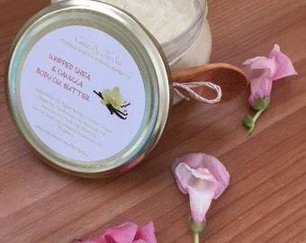 Whipped Shea & Vanilla Body Oil Butter
