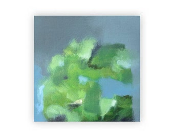 Abstract Art - Abstract Landscape Painting - Canvas Print