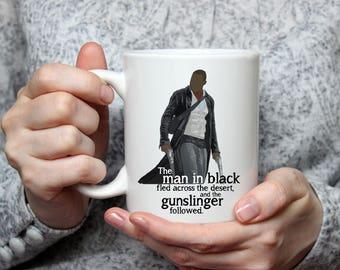 Gunslinger | Dark Tower | Man in Black | Stephen King | Book | Roland | Idris Elba | Coffee Mug