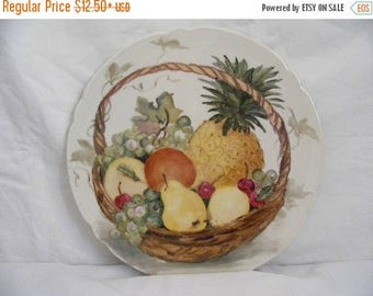 Store Wide Sale Assortment of  5 Hand Painted  Decorative Plates