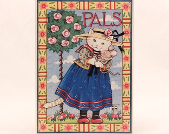 New/Old Stock-Mary Engelbreit Card - Pals