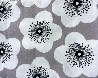 "100% cotton fabric ""flowers"""