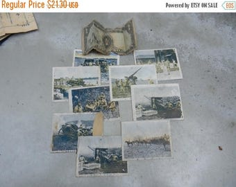 Summer Sale Vintage Grouping of pre WW2 Japanese Military Picture Cards War with China