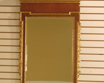 44208EC: FRIEDMAN BROTHERS CWLG15 Colonial Williamsburg Mirror - Genuine Gold