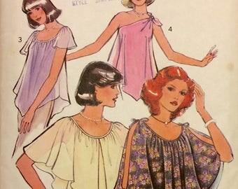 1970s Vintage Women's Set of Bias Tops