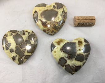 Septarian hearts-your choice 69 each!
