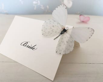 Butterfly Place Card, Wedding Place Cards, Name Cards, Place Setting, Butterfly Name Card