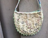 Hand Embroidered Gift Bags - set of 3